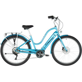 "Electra Townie Path Go! 10D 27,5"" Dames, aqua metallic"
